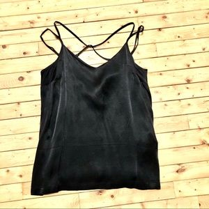 Black Satin Camisole